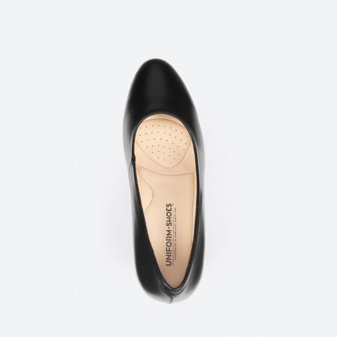 Sapato de tacão preto - Barcelona 001