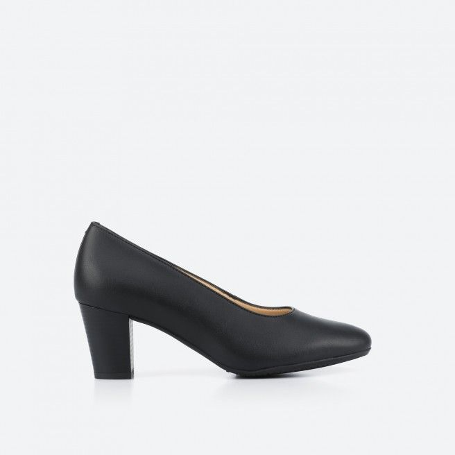 Barcelona Vegan 001 - sapato de tacão preto