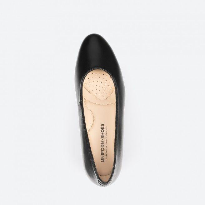 Sapato de tacão preto - Madrid 001
