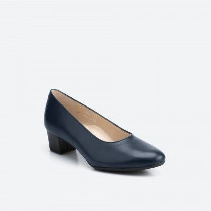 Midnight blue pump shoe  - Madrid 002