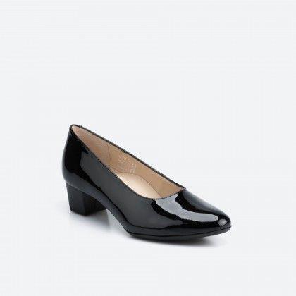Patent black pump shoe  - Madrid 003