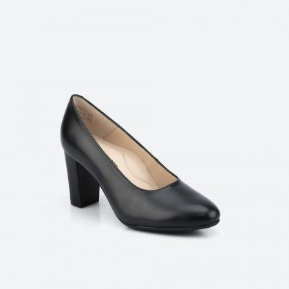 Black pump shoe - Oslo 001