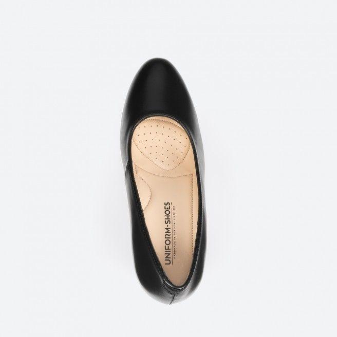 Sapato de tacão preto - Oslo 001