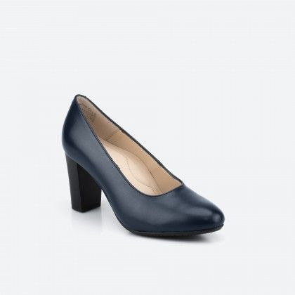 Midnight blue pump shoe  - Oslo 002