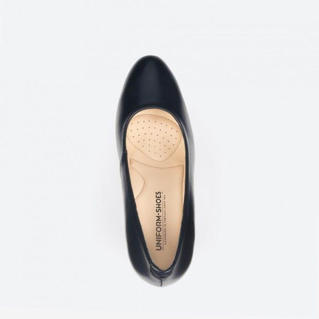 Midnight blue pump shoe  - Oslo 002