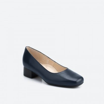Midnight blue pump shoe  - Bergamo 002