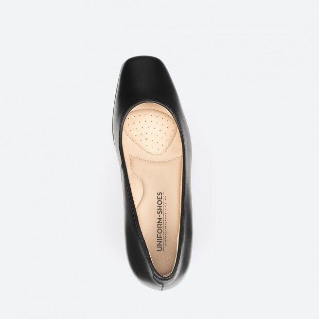 Black pump shoe - Tuy 001