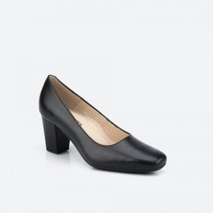 Munich 001 - black pump shoe