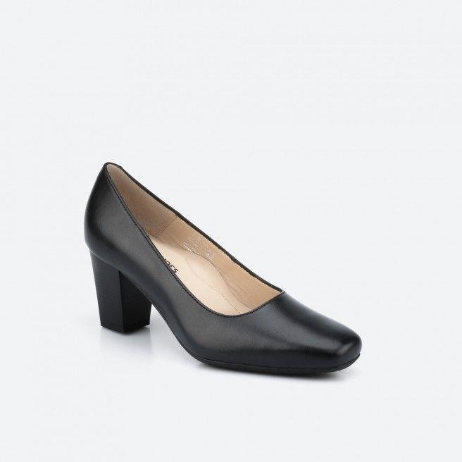 Sapato de tacão preto - Munich 001