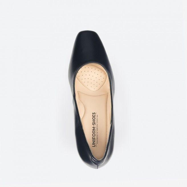 Sapato de tacão azul noite - Munich 002