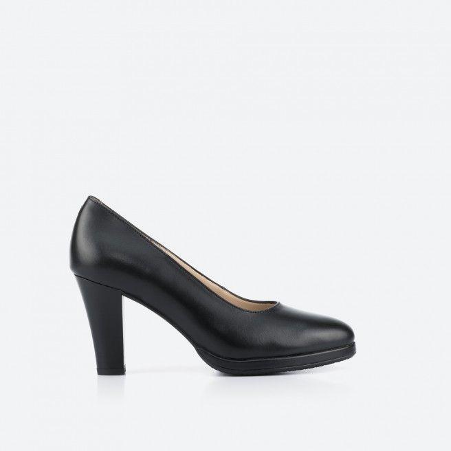 Sapato de tacão preto - Berlin 001