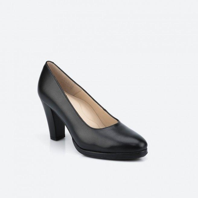 Sapato de tacão Preto BERLIN