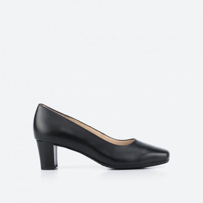 Black pump shoe - Papeete 001