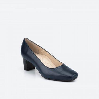 Midnight blue pump shoe  - Papeete 002