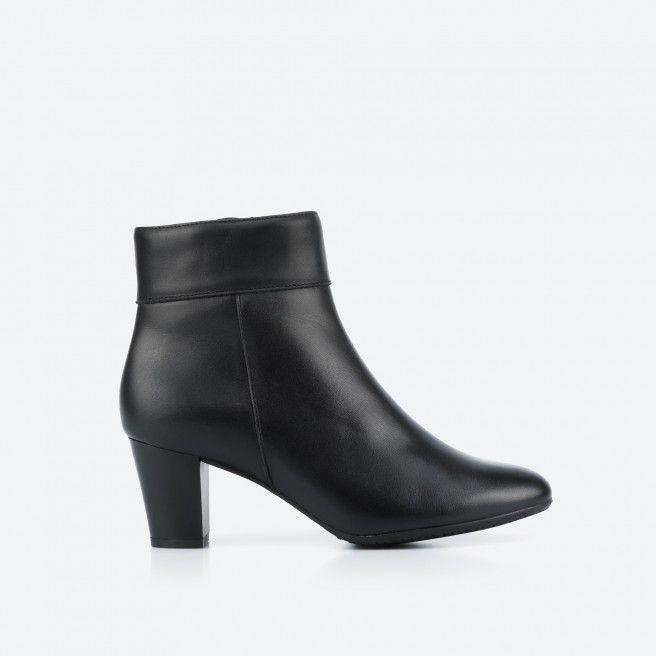Denver 001 - black low boot