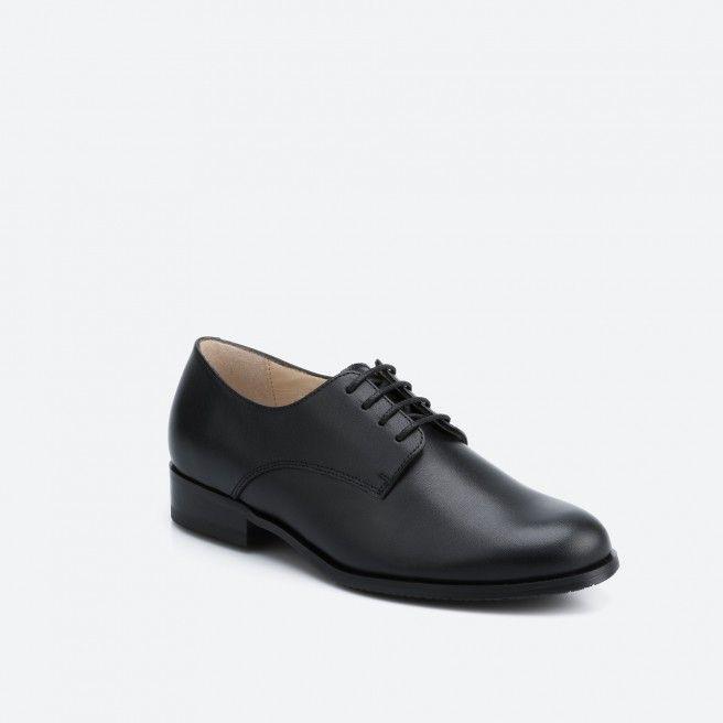 Chaussures à lacets Noir MONTREAL