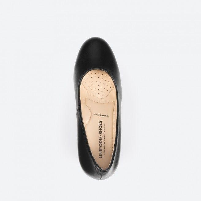 Black pump shoe - Barajas 001