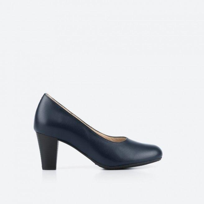 Midnight blue pump shoe  - Barajas 002