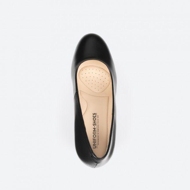 Black pump shoe - Prague 001