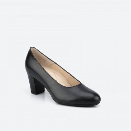 Barcelona Wide 001 - black pump shoe