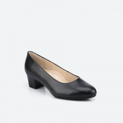 Black pump shoe - Madrid Wide 001
