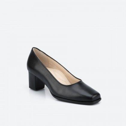 Black pump shoe - Tuy Wide 001