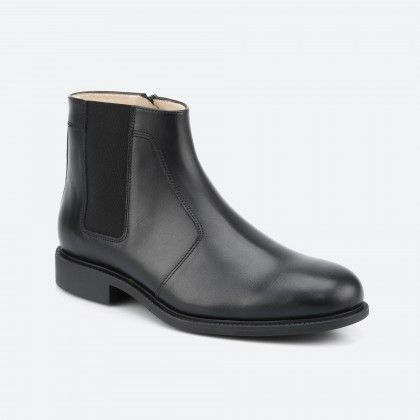 Black low boot - Norwich 001