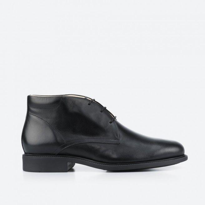 Black low boot - London 001
