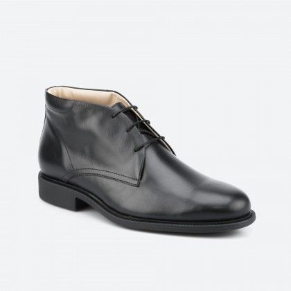 Black low boot - London 001