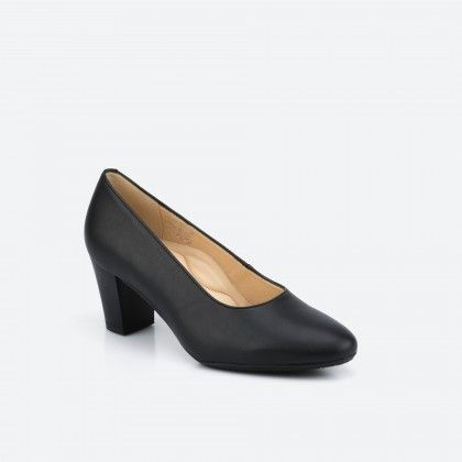 Black pump shoe - Barcelona Vegan 001