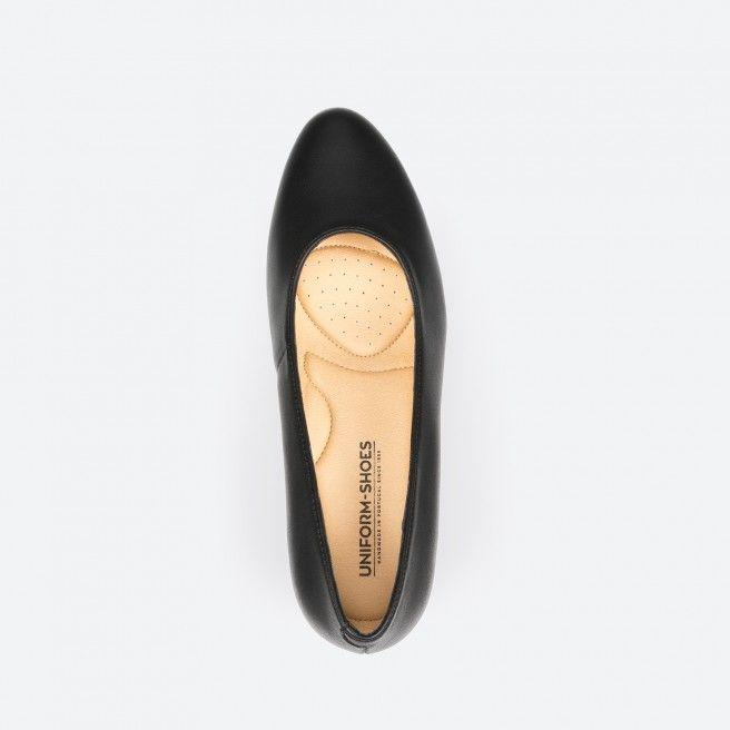 Sapato de tacão preto - Madrid Vegan 001