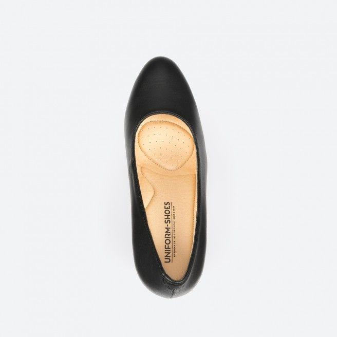 Black pump shoe - Oslo Vegan 001