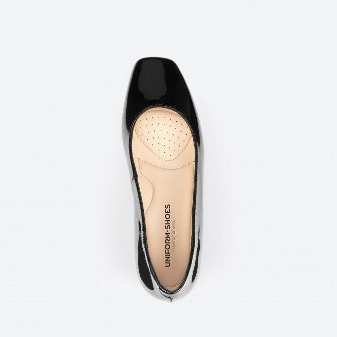 Bergamo 003 - escarpins vernis noir