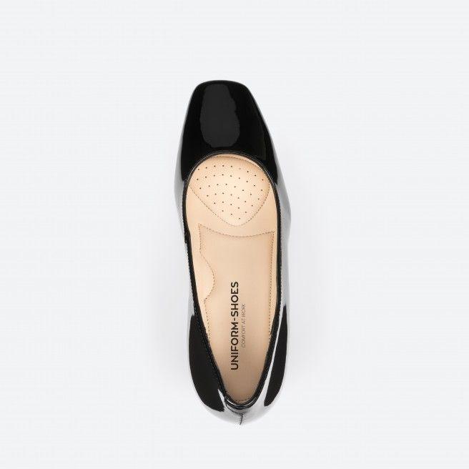 Papeete 003 - escarpins vernis noir