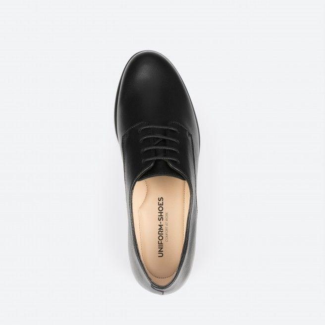 Montreal 001 - chaussures à lacets noir